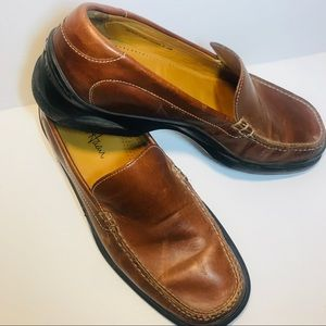 Men's Cole Haan 9.5 Leather loafer Shoes Air Soles